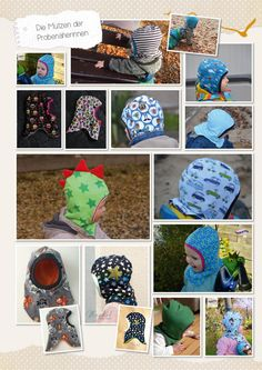 Lybstes Schlupfmütze gratis nähen, Freebook downloaden, umsonst eine Mütze nähen mit Schnittmuster Childrens Sewing Patterns, Baby Patterns, Sewing For Kids, Baby Sewing Projects, Free Sewing, Sewing Patterns Free, Schlupfmütze Baby, Fleece Hat Pattern, Sewing Techniques