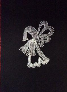 Bobbin Lace Patterns, Lacemaking, Lace Heart, Lace Jewelry, Xmas, Christmas, Lace Detail, Tatting, Butterfly