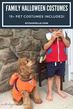 15+ Halloween Costume ideas if you want to dress up with your pet. Dog costumes, cat costumes, horse costumes, and people costumes! #halloweencostume #diycostume #halloween Horse Costumes, Pop Culture Halloween Costume, Dog Halloween, Creative Halloween Costumes, Funny Family Costumes, Really Cute Dogs, Family Humor, Diy Stuffed Animals, Costume Ideas