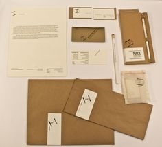 Personal Stationery by Alistair Casillas, via Behance