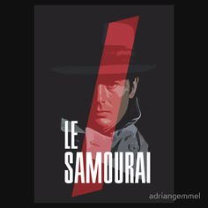 Le Samourai - Alain Delon le samouraï der eiskalte engel alain delon jean pierre meville t-shirt