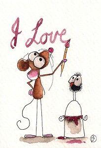 I love...... you!