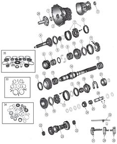 21 Best 93-98 Grand Cherokee ZJ Parts Diagrams images