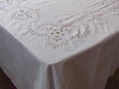 NEW Square / Round / Large Tablecloth White Cotton By MilaStyle   Table  Linens   Pinterest   Tablecloths, Squares And Large