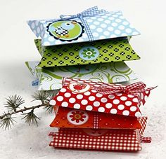 .cute little box envelopes