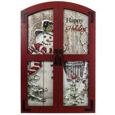 Happy holidays snowman wall plaque christmas traditional collection cracker barrel old country store Christmas Picture Frames, Christmas Wall Art, Pallet Christmas, Burlap Christmas, Christmas Paintings, Outdoor Christmas, Christmas Projects, Country Christmas, Cone Christmas Trees