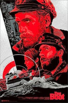 Das boot by Ken Taylor Ken Taylor, Film Class, Film Watch, Movie Poster Art, Fantasy Inspiration, Horror Films, Military Art, Comic Covers, Boating