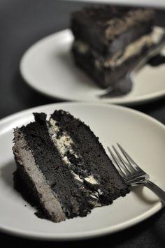 My Favorite things! :) Oreo Ice Cream Cake.