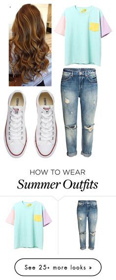 """Outfit of the day"" by bubble-loves-you on Polyvore featuring Converse"
