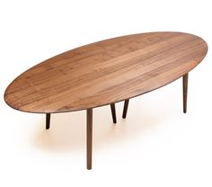 NeriHu for De La Espada, # dining table, #oval #conference table
