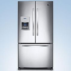 French Door Bottom Freezer Refrigerator   Stainless