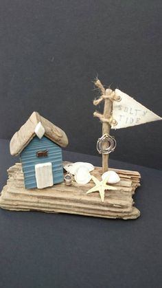 Check out this item in my Etsy shop https://www.etsy.com/uk/listing/387389320/salty-tide-driftwood-beach-hut-flag