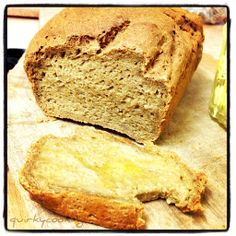 Recipe Chia Seed, Buckwheat & Quinoa Bread {egg free & gluten free} by Quirky Cooking, learn to make this recipe easily in your kitchen machine and discover other Thermomix recipes in Breads & rolls. Gf Bread Recipe, Thermomix Bread, Bread Recipes, Raw Food Recipes, Sweet Recipes, Meatless Recipes, Healthy Recipes, Gf Recipes, Vegetarian Food