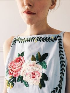 We're back in the studio with our favourite creatives, this time it's Tessa Perlow and her exquisite embroidery. Over on the blog!