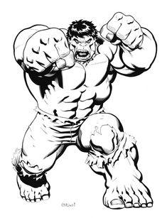 #Hulk #Fan #Art. (Hulk) By Ed Mcguinness. (THE * 5 * STÅR * ÅWARD * OF: * AW YEAH, IT'S MAJOR ÅWESOMENESS!!!™)[THANK Ü 4 PINNING!!!<·><]<©>ÅÅÅ+(OB4E)