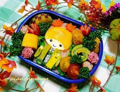 【Handmade】Kiki kimono bento ★Little Twin Stars★