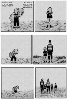 Poor Gaara... (Naruto) Oh man I just wanted to comfort him so badly when I saw this!