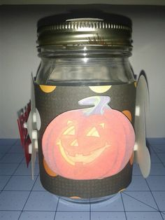 Halloween Center Piece Jar 1 Side 2