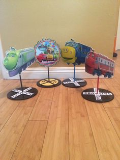 Hey, I found this really awesome Etsy listing at https://www.etsy.com/listing/235261031/chuggington-character-centerpiece-wilson