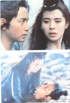 Leslie Cheung & Joey Wong