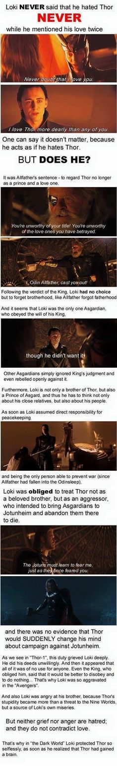 I really want this to be true.....but Loki is so complicated I can never be sure