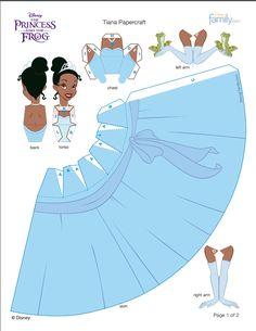 Princesas com moldes