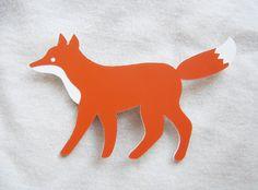 enna Fuchs-Brosche von enna shop auf DaWanda.com