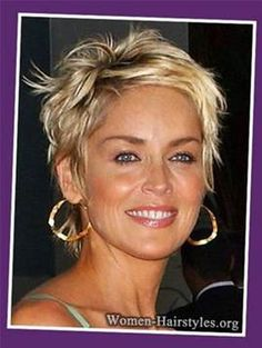Image result for Fine Hairstyle Short Hair Cuts For Women Over 50