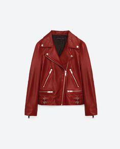 Pu Jacket, Anorak Jacket, Coats For Women, Clothes For Women, Rocker Style, Fashion Catalogue, Outerwear Women, Zara Women, Casual Chic
