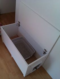ikea hackers cat litter box in a living room why not arena kitty litter box