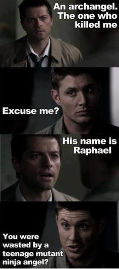 Dean and Castiel quotes | Supernatural