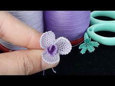78-İğne oyası gonca gül yapılışı video 1 |needlelace rose | - YouTube Creative Embroidery, Hand Embroidery, Sewing Lace, Brazilian Embroidery, Crochet Borders, Needle Lace, Youtube, Knitted Shawls, Knitting Socks