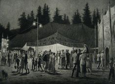 Martin Lewis ~ 'Circus Night'