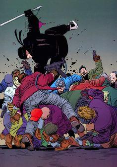 rockofeternity: Daredevil *Art by John Romita Jr. & Al WilliamsonStory by Frank Miller
