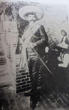Emilio Zapata by Hugo Brehme 1911