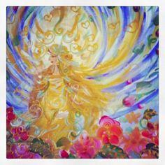 Acrylic on canvas by Mye ☆ #imye #reikiart