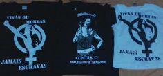 "ESTAMPARIA: Arte final. Telas sob encomenda. Estampas de/em camisas masculinas e femininas (e outros materiais). Fornecemos as camisas ou estampamos a sua própria. Personalizamos e estampamos a sua ideia: imagem, foto, frase ou logo preferido. Envie a sua ideia ou escolha uma das ""nossas""....  Blog: http://knupsilk.blogspot.com.br  Pagina facebook: https://www.facebook.com/pages/KnupSilk-EstampariaSerigrafia/827832813899935?pnref=lhc  https://twitter.com/KnupSilk"