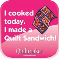 Those who know how to quilt will understand this. Merry Christmas to my old quilting gang.