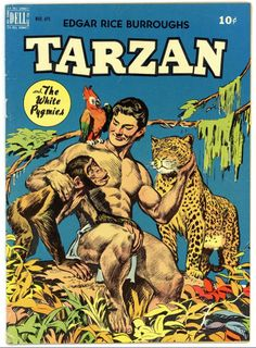 The legendary Tarzan work of artist Jesse Marsh remains an enduring, singular vision, captivating generations of comics readers and earning the acclaim of artists from Russ Manning to Alex Toth to Los Bros Hernandez. Tarzan Actors, Comic Art, Comic Books, Nostalgia, Comics Story, Classic Comics, Vintage Comics, Vintage Cartoon, Comic Covers