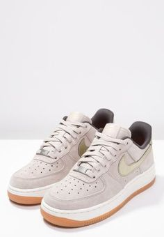 official photos 6678a 473f4 Dames Nike Sportswear AIR FORCE 1  07 PREMIUM - Sneakers laag -  string metallic