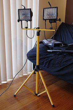 Putting Together a Budget DIY Lighting System   Shuttertalk