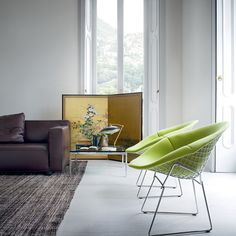 'Bertoia Diamond Chair with Full Cover by Knoll. @2Modern'