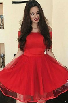 2019 New Homecoming Dresses Scoop Short Mini Tulle With Beading   HomecomingDresses  Scoop   16369b2cd
