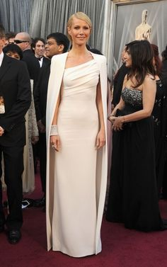 Gwyneth hit this one out of the ball park!  This look will go down as an iconic one...