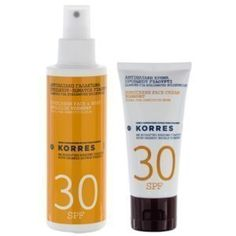 korres-spf30-pack Sparkling Ice, Shampoo, Packing, Soap, Personal Care, Drinks, Bottle, Bag Packaging, Drinking