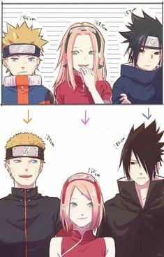 Naruto Shippuden Sasuke, Naruto Kakashi, Anime Naruto, Naruto Team 7, Naruto Comic, Otaku Anime, Naruto Shippuden Figuren, Naruto Shippuden Characters, Naruto Cute