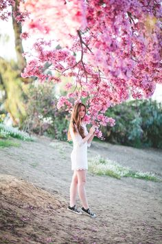 Pretty in Pink // Emily's Dreamy Senior Frolic » The Daily Frolic