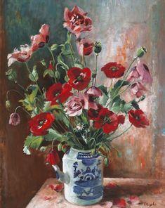 Flower Painting by Ethel Carrick Fox Australian Artist