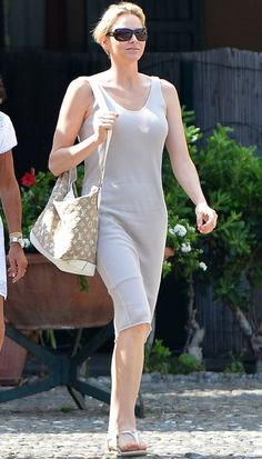 Princess Charlene on holiday in Portofino - Photo 1 | Celebrity news in hellomagazine.com