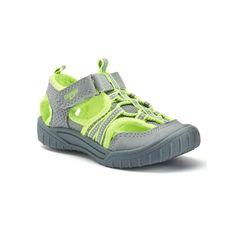 OshKosh B'gosh® Toddler Boys' Sandals, Boy's, Size: 8 T, Grey
